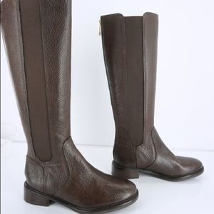 Size 8 Tory Burch Brown Leather Knee High Boots